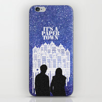 It's a Paper Town Night iPhone & iPod Skin by Anthony Londer