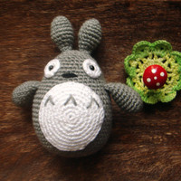 Crochet Totoro plush rabbit
