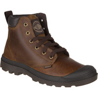 Palladium Pampa Hi Cuff Leather Boot - Men's Sunrise/Chocolate,