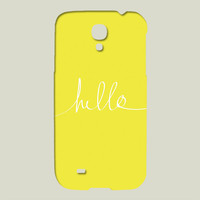 Hello Sunshine Galaxy case by leahflores on BoomBoomPrints