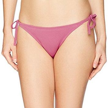 Mae Womens Swimwear Side Tie Extra Cheeky Bikini Bottom