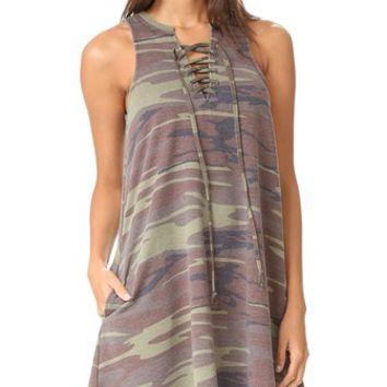 Camo All Tied Up Dress