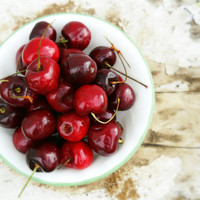Cheery bowl of Cherries 8x10 Photography Print