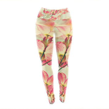 "Sylvia Cook ""Morning Light"" Yoga Leggings"