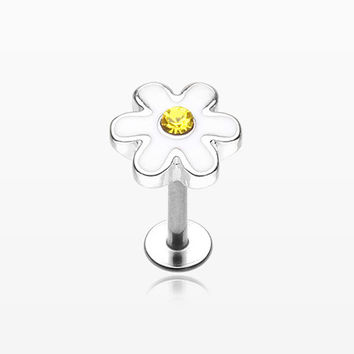 Adorable Daisy Steel Labret