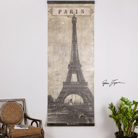 Eiffel Tower Paris Canvas Art