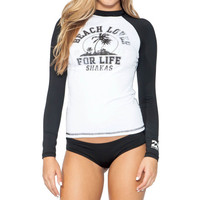 Billabong Bottomless Sunshine Rashguard - Long-Sleeve - Women's