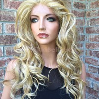 Lane Swiss Lace front wig 22""