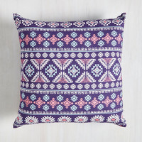 Boho Geometric Ton of Fun Pillow by ModCloth