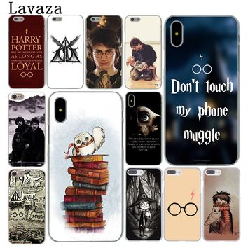 Lavaza always Harry Potter Deathly Hallows Cover Case for Apple iPhone X XS Max XR 6 6S 7 8 Plus 5 5S SE 5C 4S 10 Phone Cases