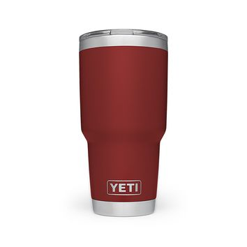 30 oz. DuraCoat  Rambler Tumbler in Brick Red with Magslider™ Lid by YETI