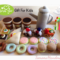 ETSY Pretend  Felt play food   ULTIMATE Birthday gift set