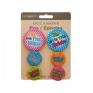 Bridal Party Pins (pack of 24)