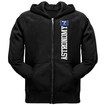 Astronomy Major Astronomy Science Team Mens Full Zip Hoodie