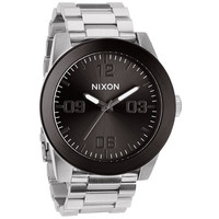 Nixon The Corporal Ss Watch Silver/Gunmetal One Size For Men 23425514001
