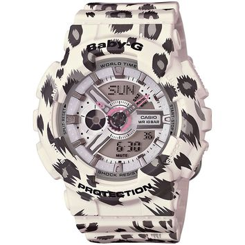 G-Shock BA110LP-7A Baby-G White Series Luxury Watch - White / One Size