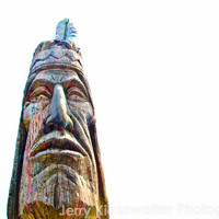Native American Photo Totem Pole Indian Woodcarving 8x10 Tribal Art Fine Art Photography Home Decor Wall Decor Travel Photography
