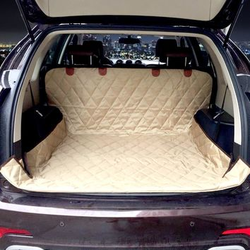 Dual-use soft SUV Dog Car Trunk Mat Car Seat Cover
