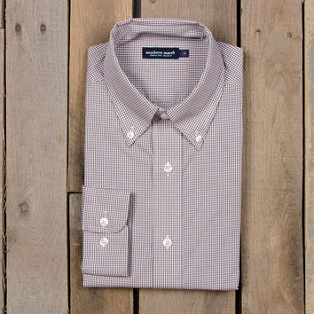 The Gadwall Gingham from Southern Marsh - Wrinkle-Free - Collegiate - University of Louisiana at Monroe