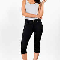 Women WannaBettaButt Side Slit Capri