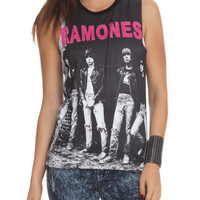 Ramones Muscle Girls Top