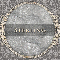 STERLING Mineral Eyeshadow: 5g Sifter Jar, Light Silver Grey, Vegan Cosmetics, Shimmer Eyeshadow