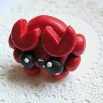 Drawer Pulls Knobs Kawaii Crab Sea Life Nursery Decor for Boys and Girls Various Sizes available