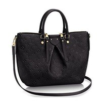 PEAP1N LV Authentic Louis Vuitton Mazarine MM Bag Handbag Article:M50643 Noir Made in France