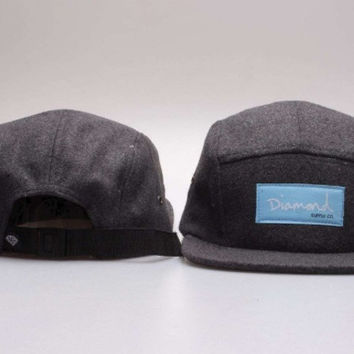Diamond 5-Panel Camp Hat