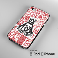 Fall Out Boy college art iPhone 4S 5S 5C 6 6Plus, iPod 4 5, LG G2 G3, Sony Z2 Case