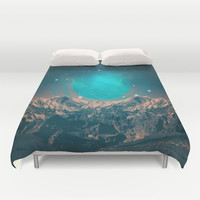 Made For Another World Duvet Cover by Soaring Anchor Designs