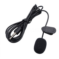 3.5mm Clip Mini Mic Noise Reduction Microphone Studio Speech Lecture Microphone for Computer Notebook Laptop tablet PC