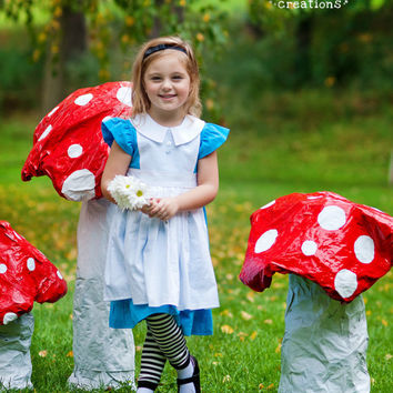 Alice - Character Inspired Dress - Alice in Wonderland - Sizes 6months through 10