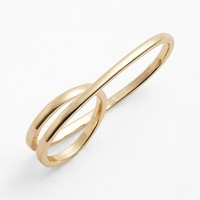 Women's Topshop Link Twist Ring - Gold