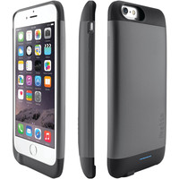 "Ibattz Iphone 6 4.7"" Refuel Invictus 3200mah Battery Charger Case (space Gray)"