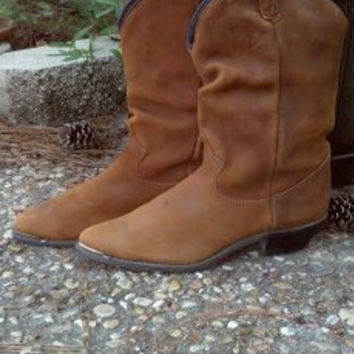 Leather Boots Dingo Womens Size 8M