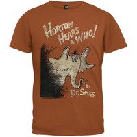 Dr. Seuss - Horton Cover Distressed Youth T-Shirt