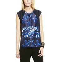 Vince Camuto Pattern Center Seam Blouse