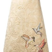 Red Valentino Embroidered Brocade Skirt - Farfetch