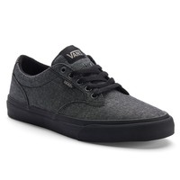 Vans Winston Men's Skate Shoes (Black)