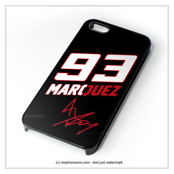 Marc Marquez Mm 93 Motogp Champion Repsol iPhone 4 4S 5 5S 5C 6 6 Plus , iPod 4 5 , Samsung Galaxy S3 S4 S5 Note 3 Note 4 , HTC One X M7 M8 Case