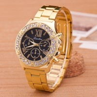 Vintage Hot Quartz Classic Watch Round Ladies Women Men wristwatch On Sales (With Thanksgiving&Christmas Gift)