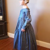 A Day In 1862...: 1830s Child's dress