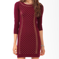 Studded Bodycon Dress