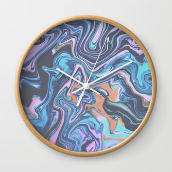 Party Crasher Wall Clock by DuckyB