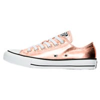 Women's Converse Chuck Taylor Ox Metallic Casual Shoes | Finish Line