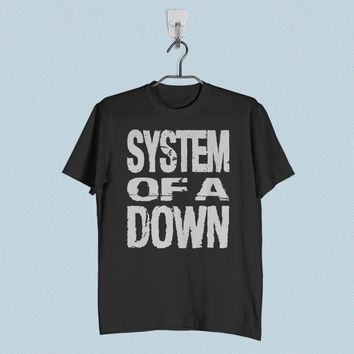 Men T-Shirt - System of a Down Logo
