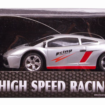 R/C Speed Pwer King - High speed racing - Turbo -Silver - Guokai