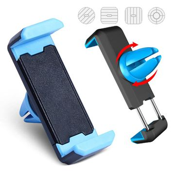 FREE - Car Phone Holder Air Vent Mount 360 Degree Rotation Universal Phone Holder For iPhone 6 Samsung Firmly Stand Mobile Phone Holder