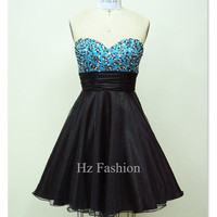 2014 party dress/Short Prom Dress/Cocktail Dress